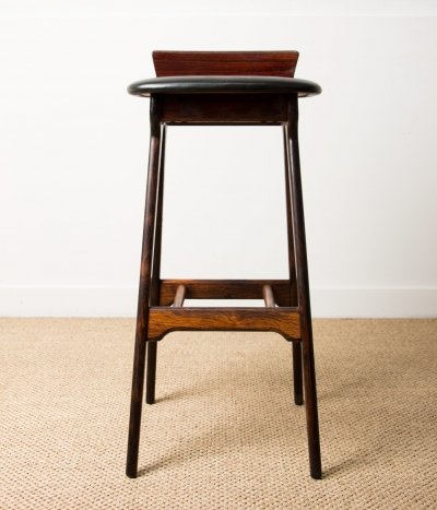Danish Rio Rosewood stool from Erik Buck
