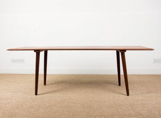 Large & high Danish Teak Coffee Table, 1960s