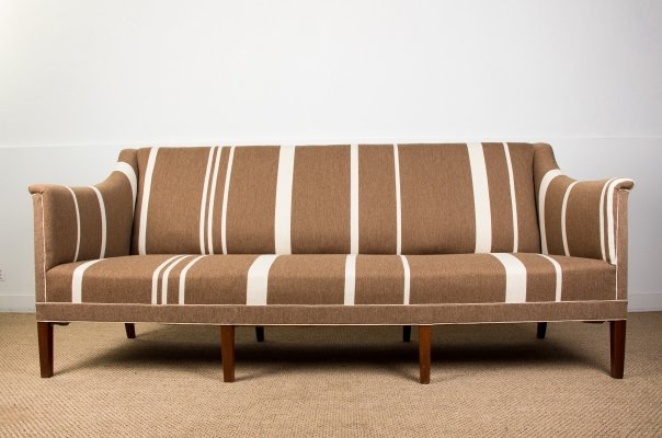 Model 6092 Danish Sofa by Kaare Klint, 1950s