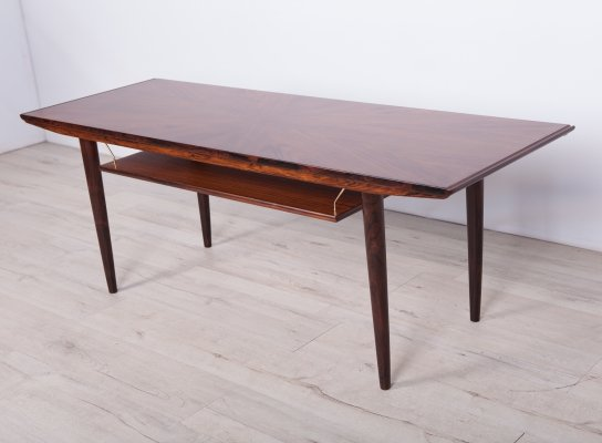 Mid-Century Rosewood Danish Coffee Table, 1970s