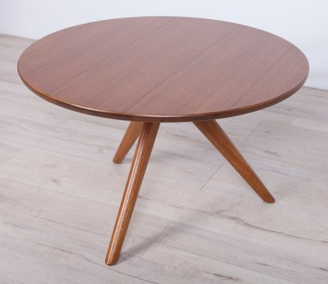 Mid-Century Beech & Teak Coffee Table from G-Plan, 1960s