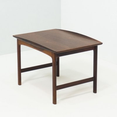 Tingströms rosewood 'Frisco' side table by Folke Ohlsson