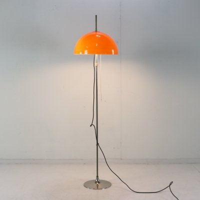 Floor lamp by Frank J. Bentler for Wisa Denmark, 1970s