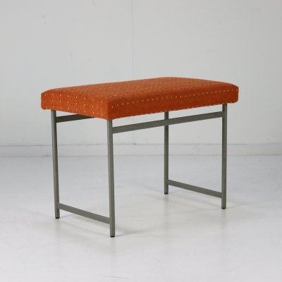 Scarce UMS Pastoe dressing table stool by Cees Braakman