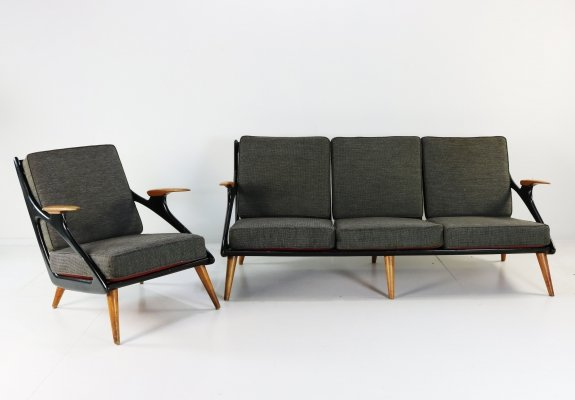 B. Sprij Vlaardingen seating group, 1950s