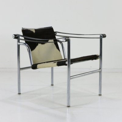 Early LC1 armchair by Le Corbusier for Cassina, 1960s