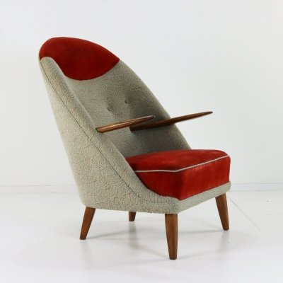 Model 53 lounge chair by Kurt Østervig for Henry Rolschau Møbler, 1960s