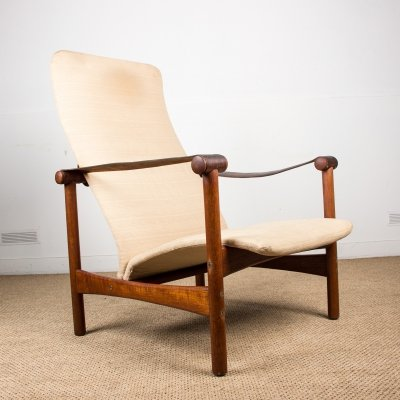 Rare & old elegant Danish Armchair from the Jules Leleu private Collection