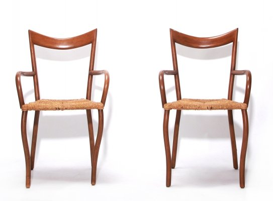 Manila Dining Chairs by Val Padilla for Jasper Conran, 1970's