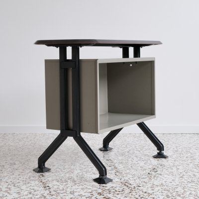 Arco serie shelfboard or side desk by Studio BBPR for Olivetti, 1960s