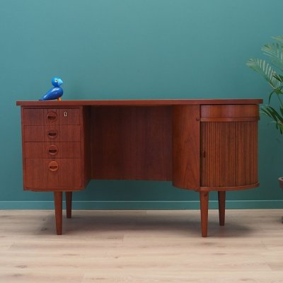 Model 54 Kidney writing desk by Kai Kristiansen for Feldballes Møbelfabrik, 1960s