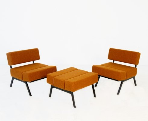 3 piece Seating group by Rito Valla for IPE, 1960s