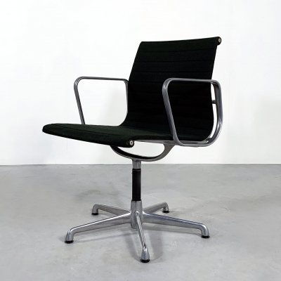 Office Chair EA107 by Charles & Ray Eames for ICF, 1970s