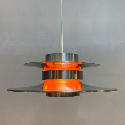 Aluminium XL hanging lamp by Carl Thore for Granhaga, 1960s