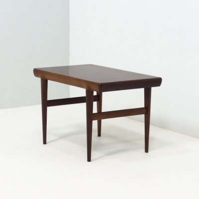 CFC Silkeborg rosewood side table by Johannes Andersen