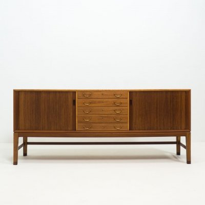 A.J. Iversen mahogany sideboard by Ole Wanscher, 1940s
