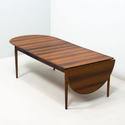 Sibast Møbler 'model 227' extendable rosewood dining table by Arne Vodder