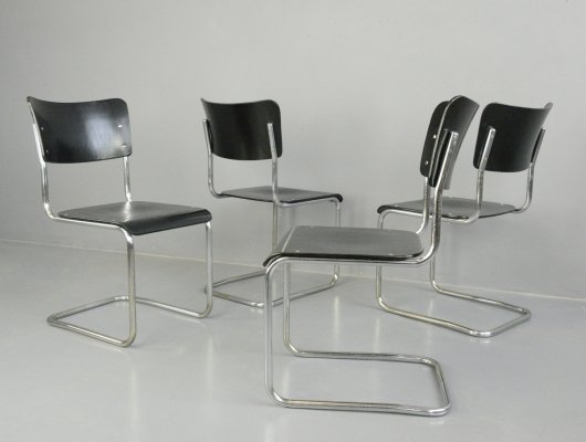 Bauhaus Cantilever Chairs by Mauser, Circa 1920s