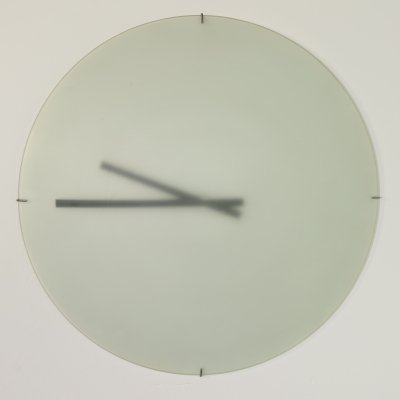 1st edition DK wall clock by Paul Schudel for Designum, 1970s