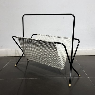 Mid-Century Modernist Magazine Holder by Pilastro, 1950s