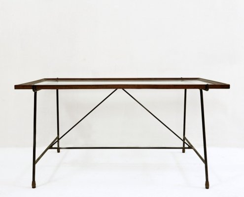 Italian Coffee Table by Augusto Bozzi for Saporiti, 1960s
