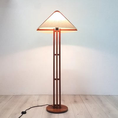 Solid teak floor lamp by Domus, Denmark 1960s