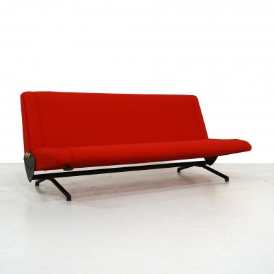 D70 sofa by Osvaldo Borsani for Tecno, 1960s
