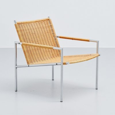 Martin Visser SZ01 lounge chair for 't Spectrum, 1960
