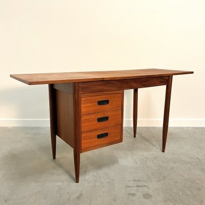 Drop leaf desk by HMF (Haagse Meubelfabriek), 1960s