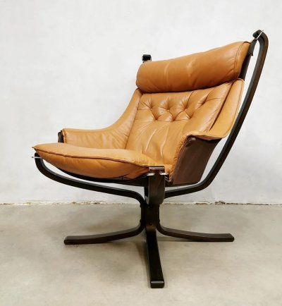 Vintage midcentury Falcon armchair by Sigurd Ressell, 1970