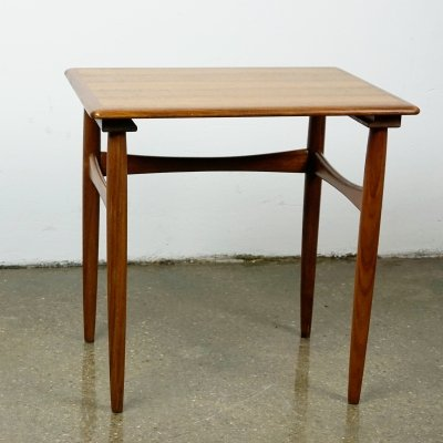 Danish Teak Side Table by Poul Hundevad