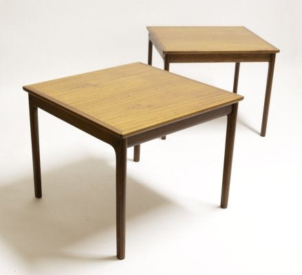 2x Ole Wanscher Side Table, 1960s