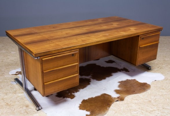 AP137 Polak Desk in teak by Salomonson & Tempelman, 1960s