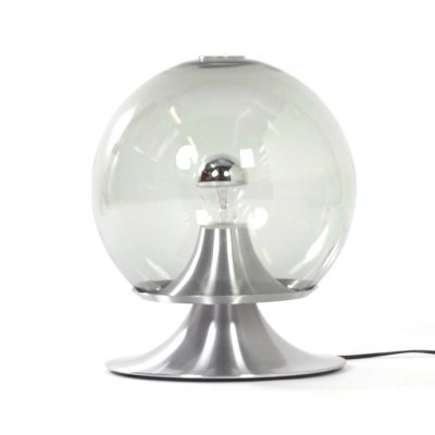 Large Dream Island Table Lamp in Transparent Glass by Raak Amsterdam, 1960