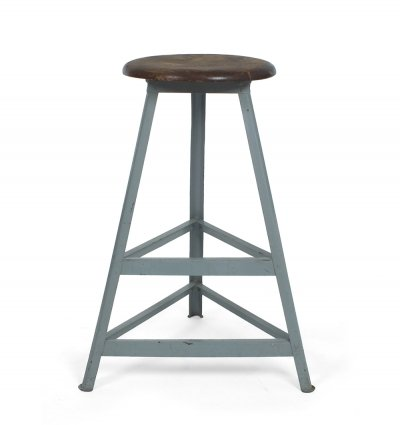 High Industrial stool by R. Wagner for Rowac, 1920s