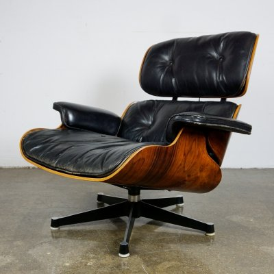 Mod. 670 Lounge Chair by Charles & Ray Eames for Herman Miller