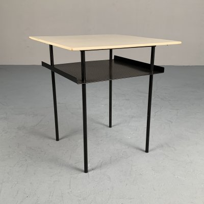 Minimalistic side table by Wim Rietveld for Auping, Netherlands 1955