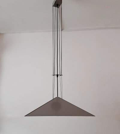Hanging lamp by Rodney Kinsman for Bieffeplast, 1980s