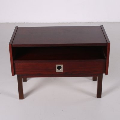 Rosewood bedside table, 1960s