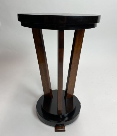 Cubist art deco side table, 1930s