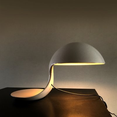 Original vintage Cobra lamp by Elio Martinelli, 1968