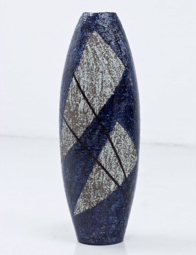Stoneware Floor Vase by Ingrid Atterberg for Upsala-Ekeby, Sweden
