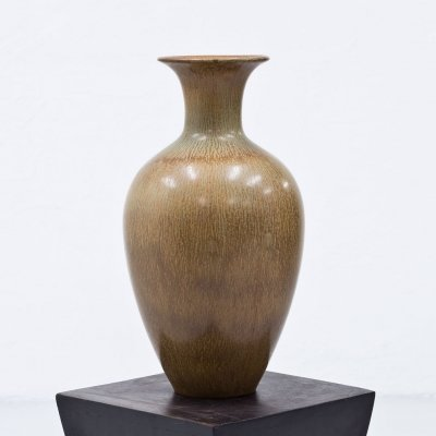 Stoneware Floor Vase by Gunnar Nylund for Rörtsrand, Sweden 1950s