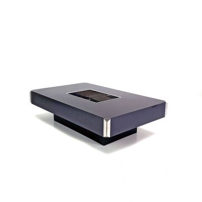 Alveo Coffee table by Willy Rizzo for Mario Sabot