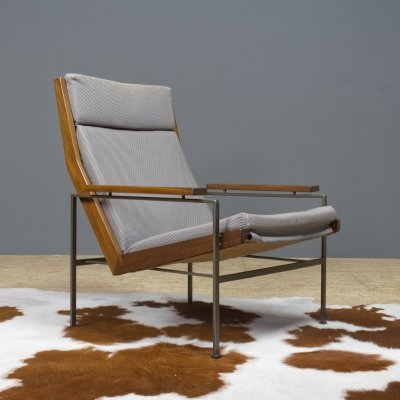 Rob Parry Lotus chair in teak for Dutch furniture company Gelderland, 1950s