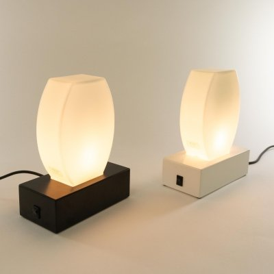 Pair of Dorane table lamps by Ettore Sottsass for Stilnovo