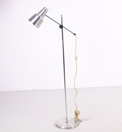 Aluminum fishing rod lamp from Denmark with adjustable spot