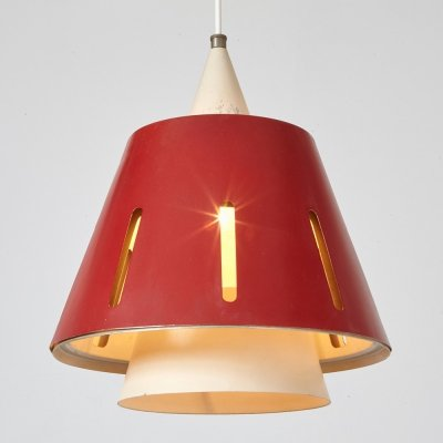 H. Busquet Sun Series Pendant Model no. 10 for Hala, 1950s