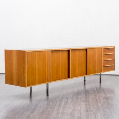 Sideboard in walnut, 1960s