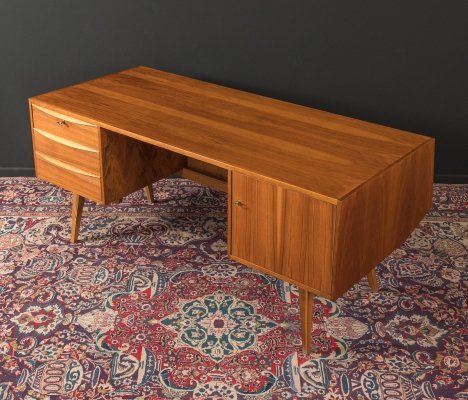 1950s desk in walnut
